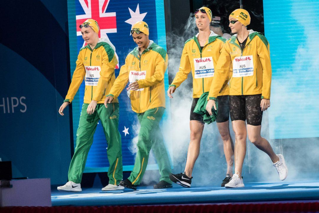 Emily Seebohm, Rowan Crothers Named Australia's Swimmers of the Year