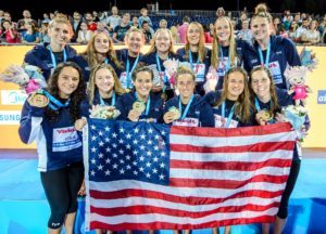 USA Women Defeat Spain to Win 5th Worlds Water Polo Title