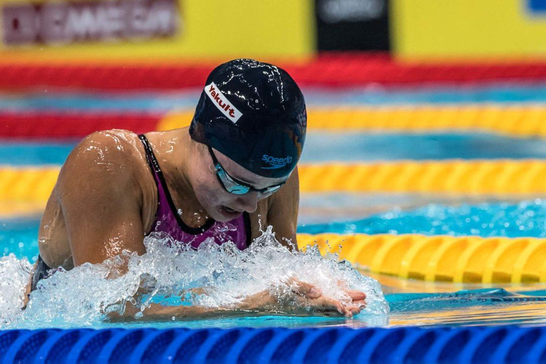 Gunes Scratches 50 Breast Prelims on Day 7 of 2017 FINA Worlds