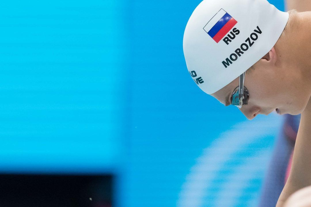 Vlad Morozov Breaks Russian Record in 50 Back on Day 1