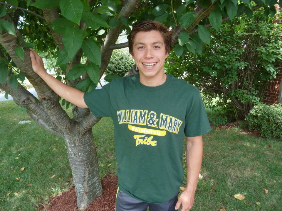 Steven Thalblum Verbally Commits to Swim for the William & Mary Tribe