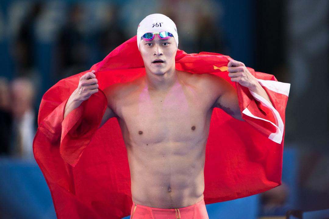 Sun Yang May Be Breaking Up With The 1500 Free Again