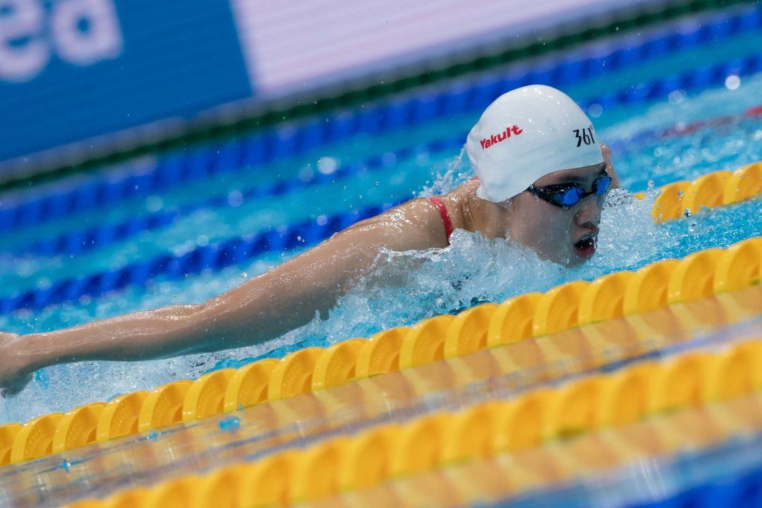 Zhang Yufei Throws Down 57.82 100 Fly On Day 2 Of Chinese Nationals
