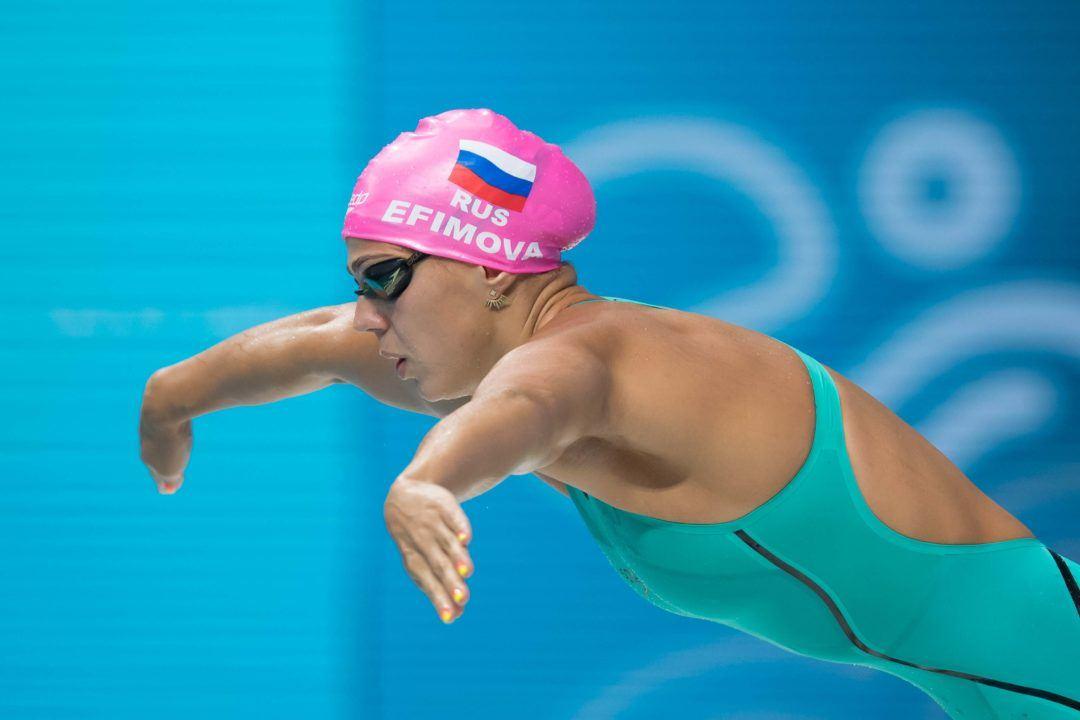 Russian Women Break European Record To Win Medley Relay Silver