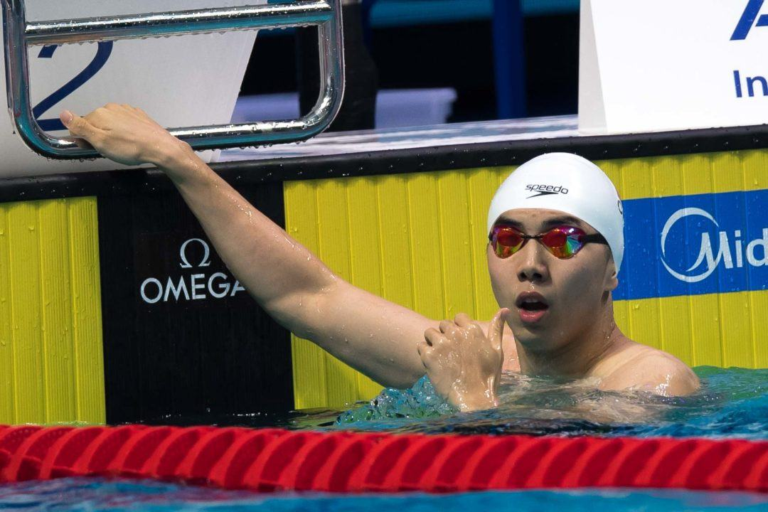 Zibei Lowers Own Chinese Mark, Koseki Ties Asian Record In 50 Breast