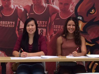 Roberts Wesleyan Signs First Two Women's Swimmers In Program History