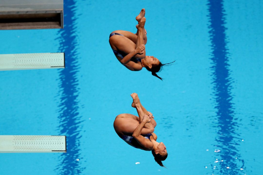 Campbell/Duncan Earn Gold In Men's Synchro 3-Meter At Diving Nationals