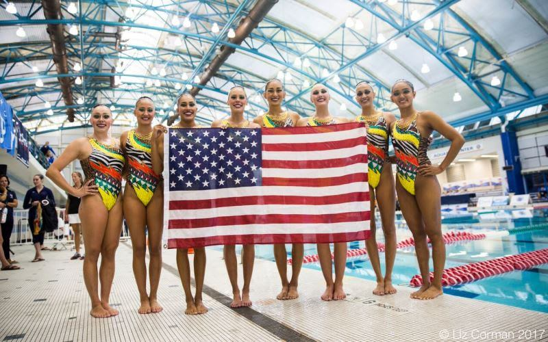 U.S. National Synchro Team Ready For FINA World Championships