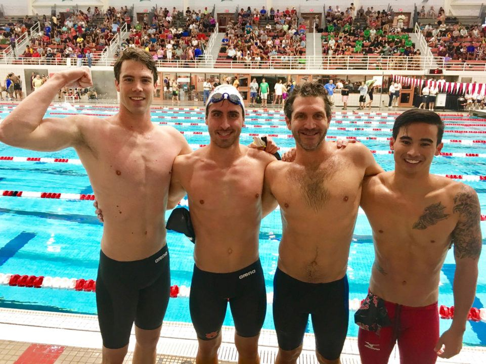 SwimAtlanta Coaches Relay Places 2nd at Georgia Senior State Meet