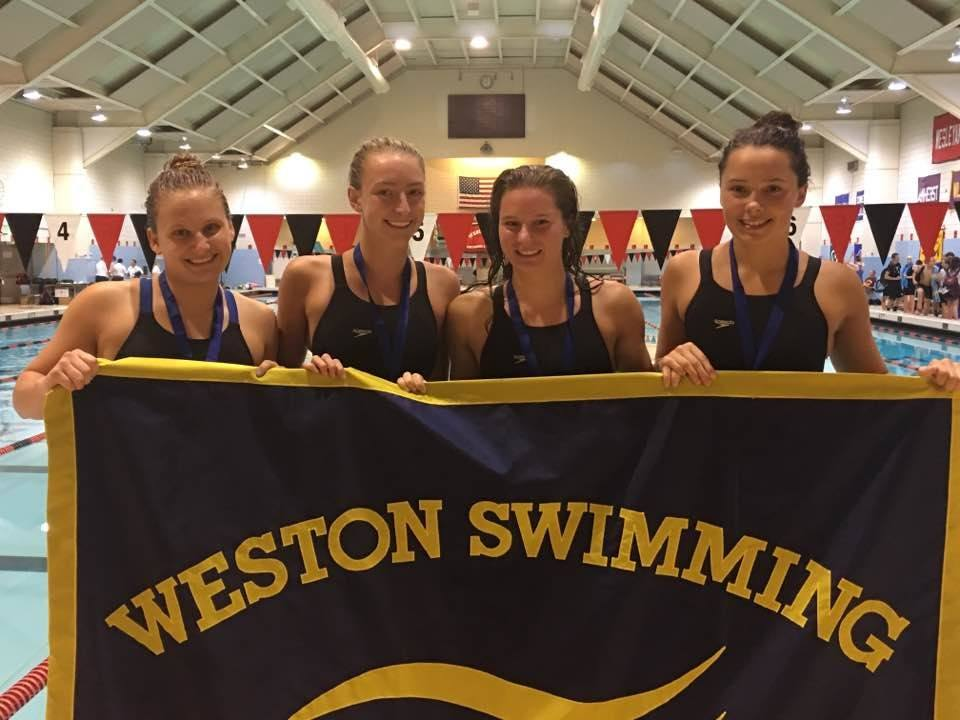 Weston Women Capture CT 200 Medley Relay Record From B-hind