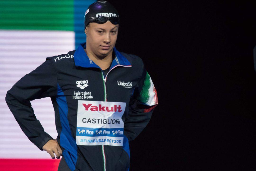 Arianna Castiglioni Eguaglia Record Della Carraro Nello Swim Off-Risultati Day2