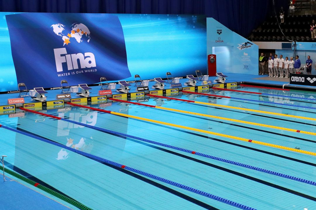 FINA's Automatic Entry To World Cup Finals Altered For Cluster #2
