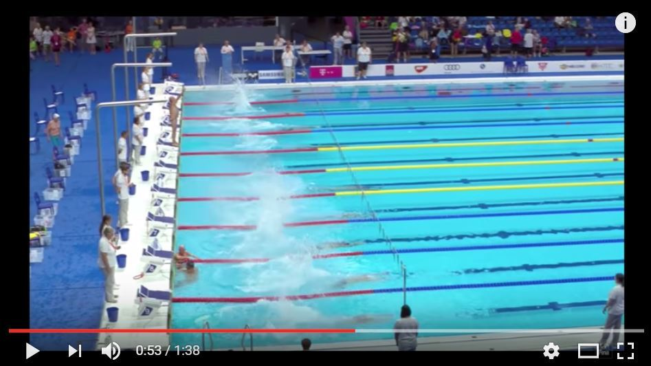 Spanish Swimmer at FINA World Masters Denied Minute of Silence; Takes it Anyway, Then Swims Race