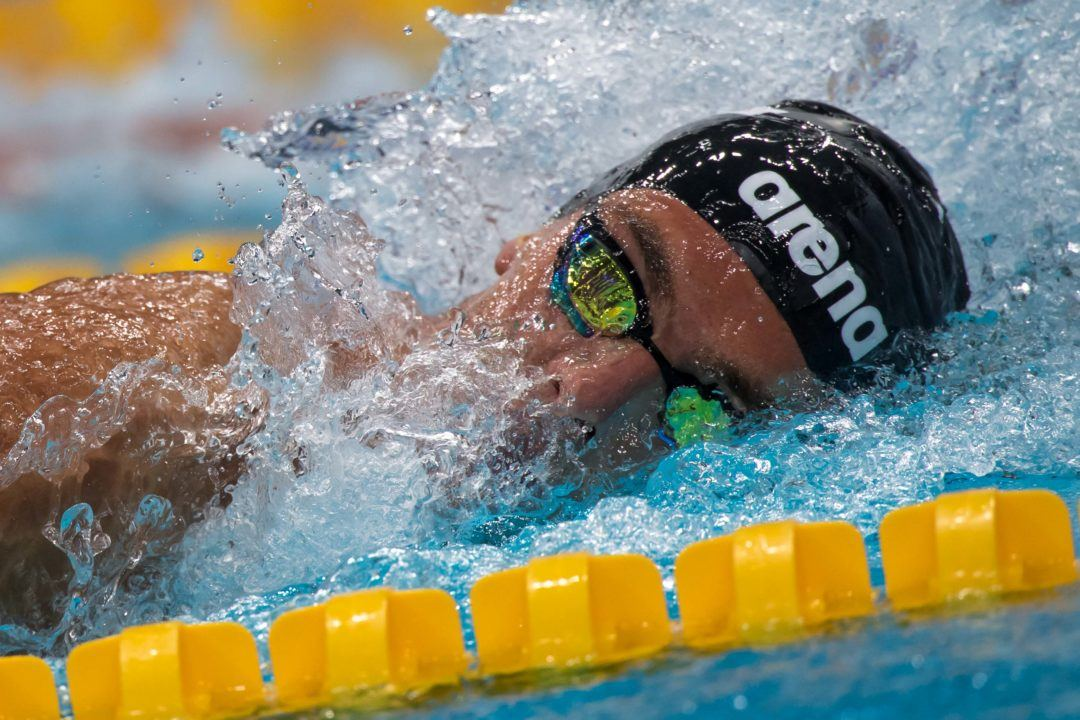 Gregorio Paltrinieri Swims First Races in Italy in 10 Months