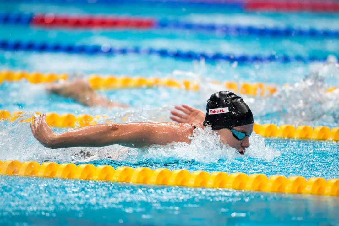 Helena Gasson Becomes First Kiwi Under 58 Seconds In Women's SCM 100 Fly