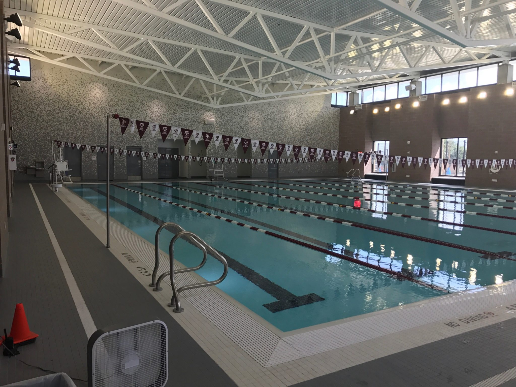 Texas A Amp M S New Pool Is Open For Business