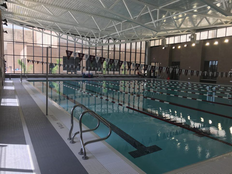 Texas A&M's New Pool is Open For Business