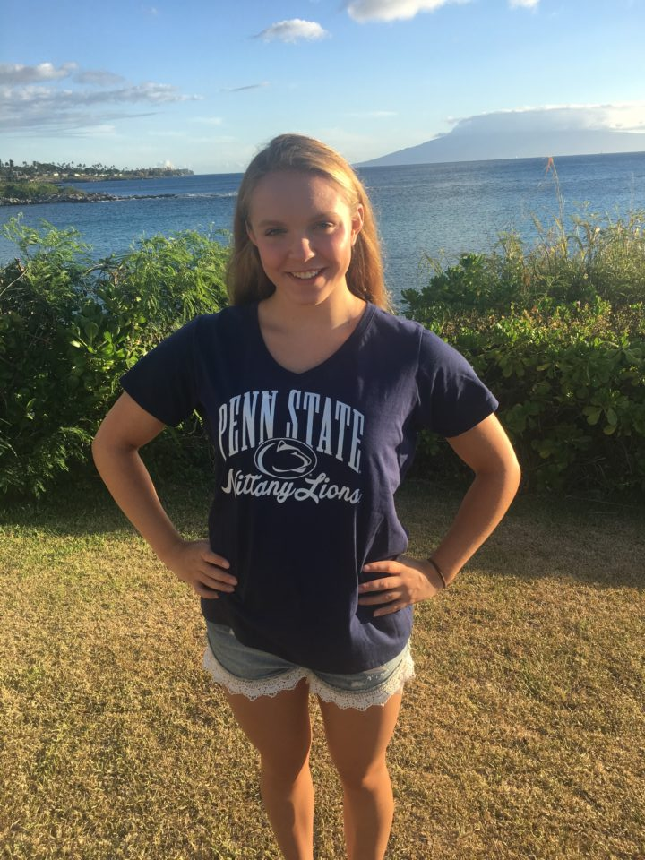NCAP Butterflyer Brooke Matthias Verbally Commits to Penn State