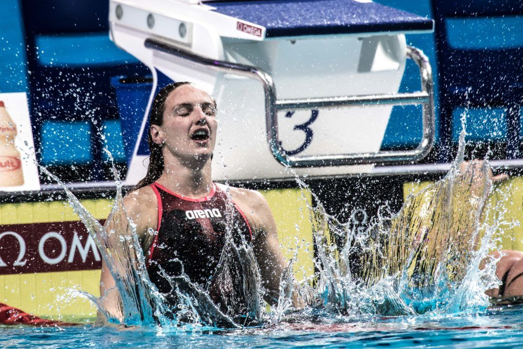 Sjostrom, Hosszu Double Up On Day 2 Of Doha World Cup