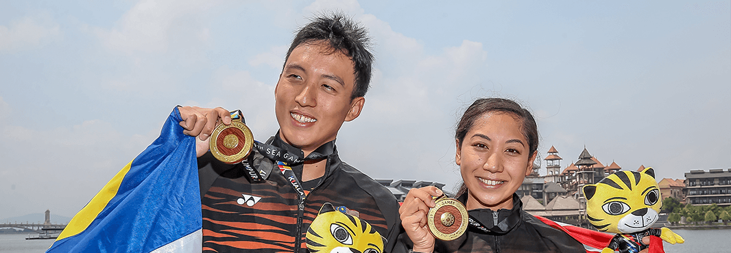 Malaysia Sweeps Open Water Medals at 2017 SEA Games