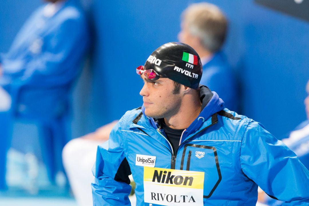 Matteo Rivolta Breaks Italian Record in 100 Fly
