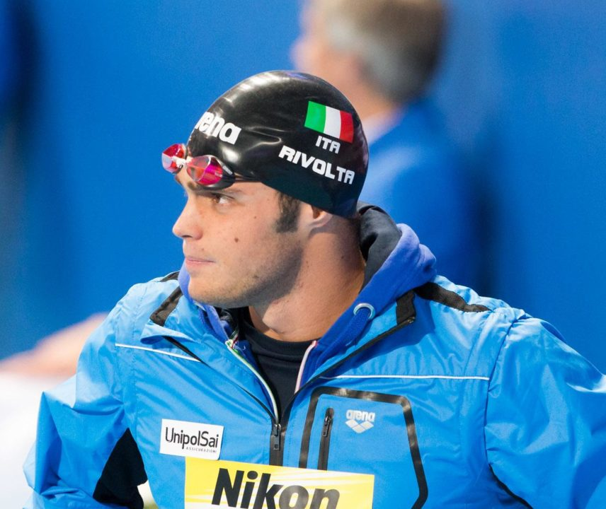 Matteo Rivolta Breaks Italian Record in 100 Fly