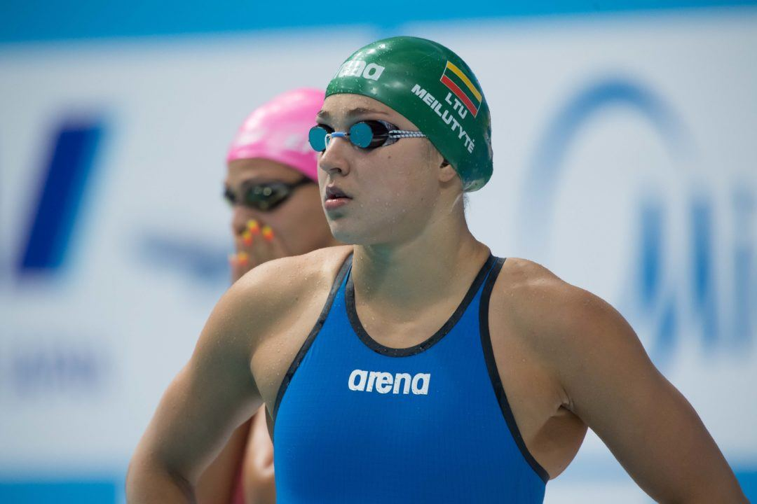 Ruta Meilutyte Will Train With Team Elite in San Diego for a Month