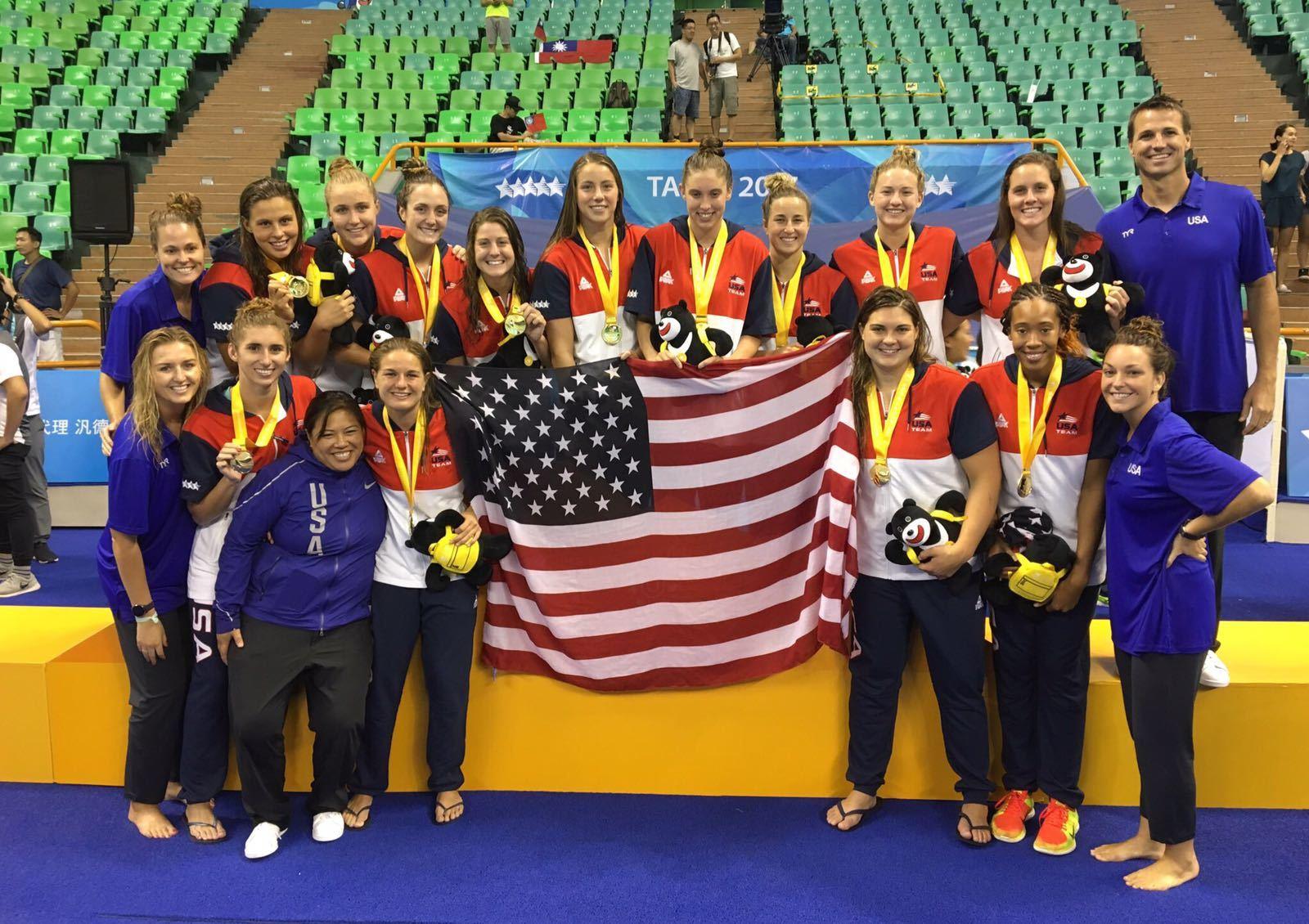 3de1f5e40e287 USA Women s Water Polo Wins World University Games Gold