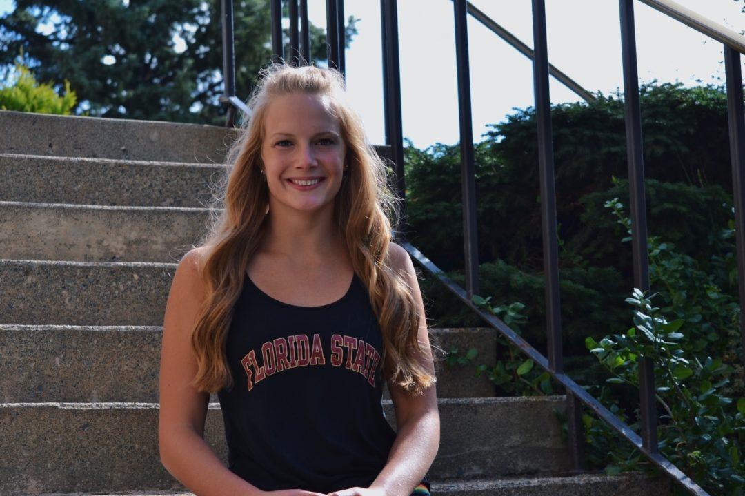 FSU Picks Up Verbal From Canadian Breaststroker Nina Kucheran