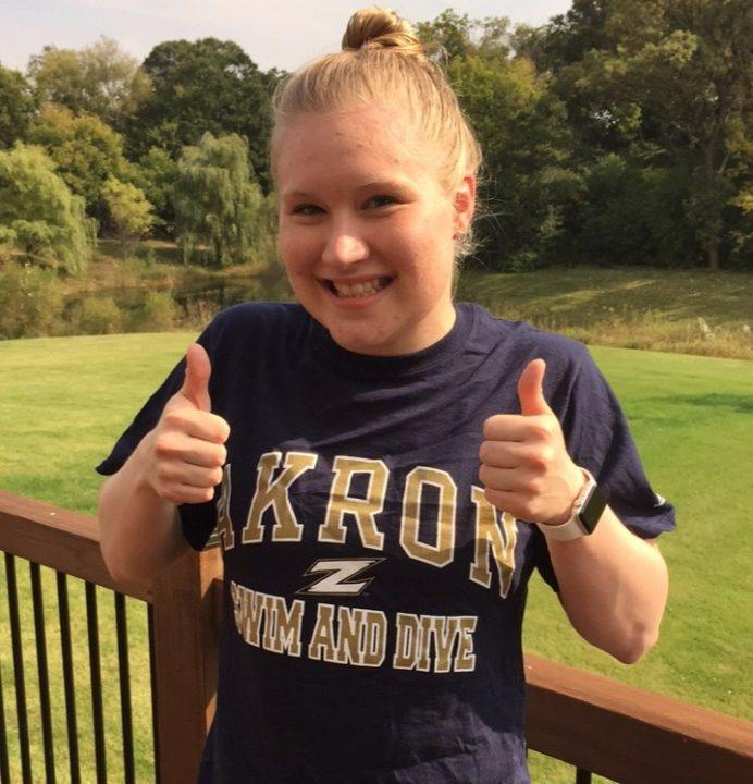 Versatile Andrea Fischer Gives Akron its First Verbal Commitment for 2018-19