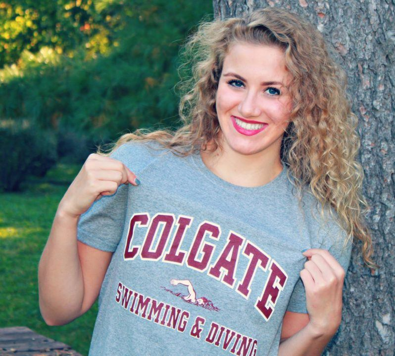 Distance Freestyler Kate Van Meter Gives Verbal to Colgate Raiders
