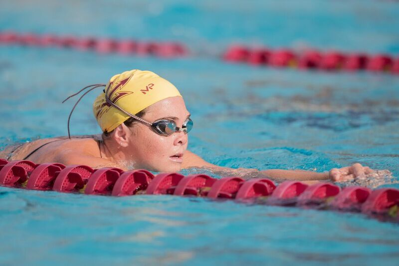 Craig Rocks 42.5 100 Free; ASU Women Beat Arizona For the First Time in 25 Years