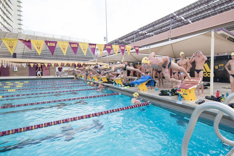 Arizona State Men Topple Texas in Tempe, Texas Women Win