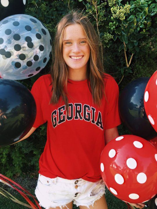 #1 in the Class of 2018, Eva Merrell Hands Verbal Commitment to UGA