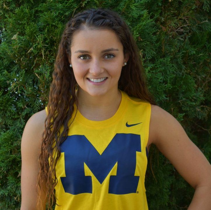 Michigan Secures Verbal Commitment from In-state Backstroker Katie Minnich