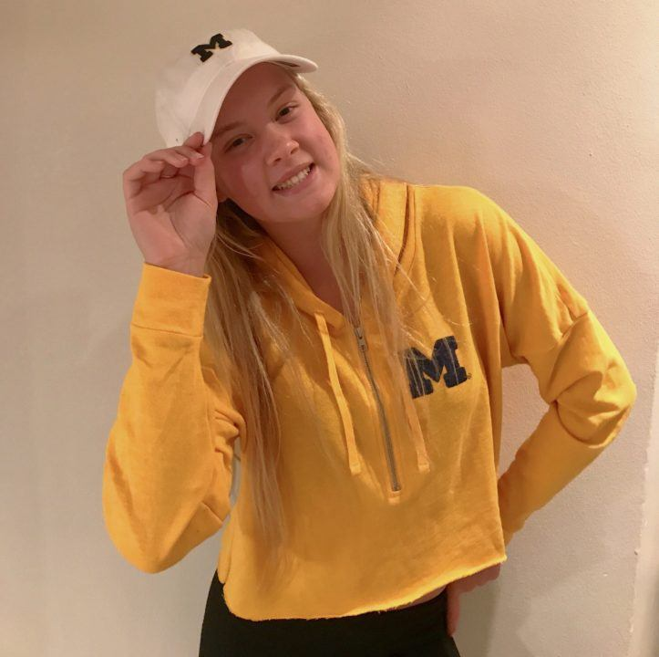 Michigan Pulls in Another Backstroke Verbal: Mariella Venter of South Africa