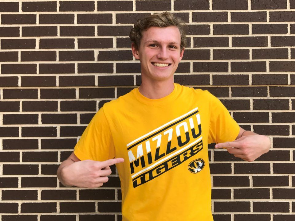 Missouri Tigers Pick Up Verbal Commitment from SwimAtlanta's Jack Dubois