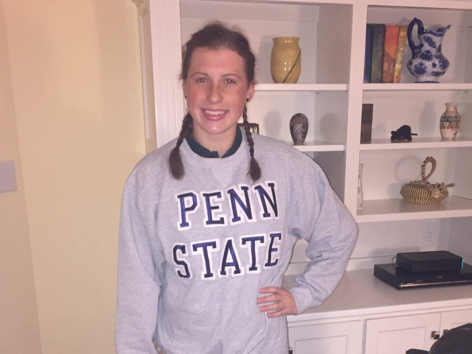 York YMCA Backstroker Marget Shelly Gives Verbal to Penn State
