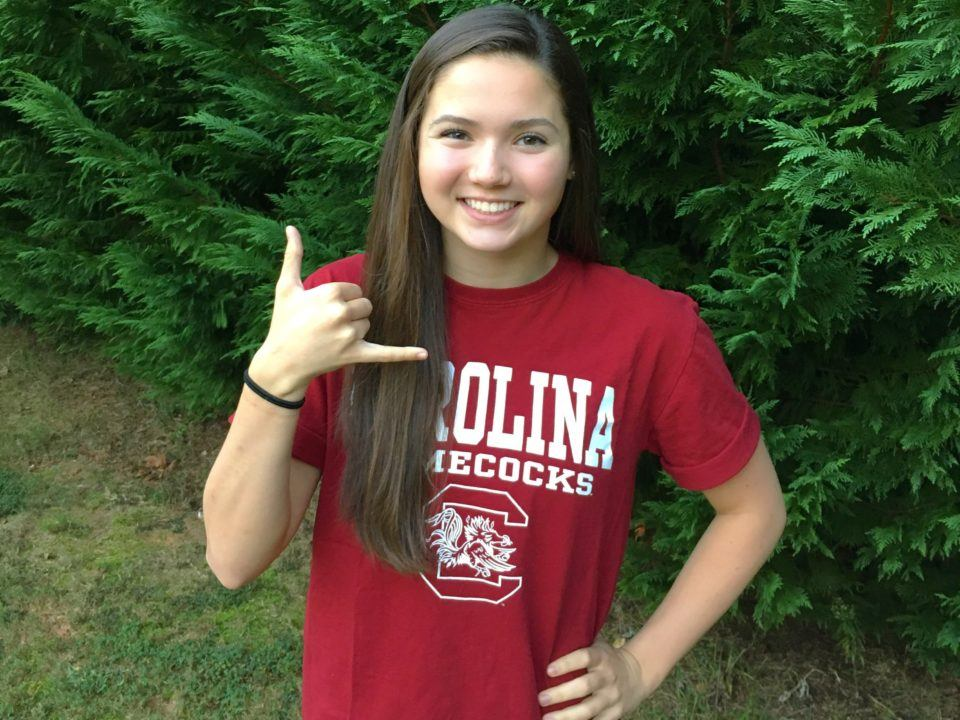 SwimAtlanta's Emma Scheider Verbally Commits to South Carolina