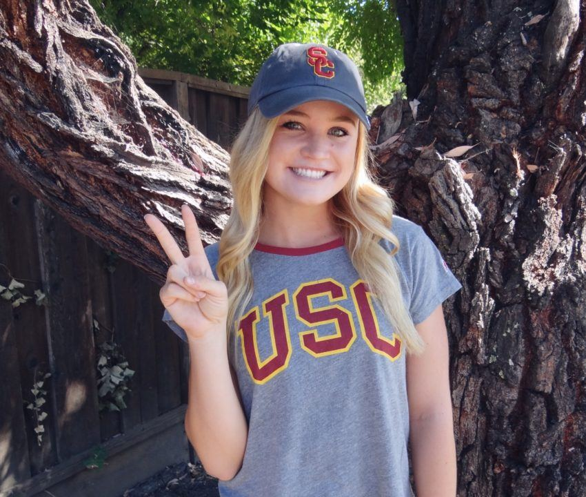CIF-NCS Champion Makenna Turner Gives Verbal to USC Trojans