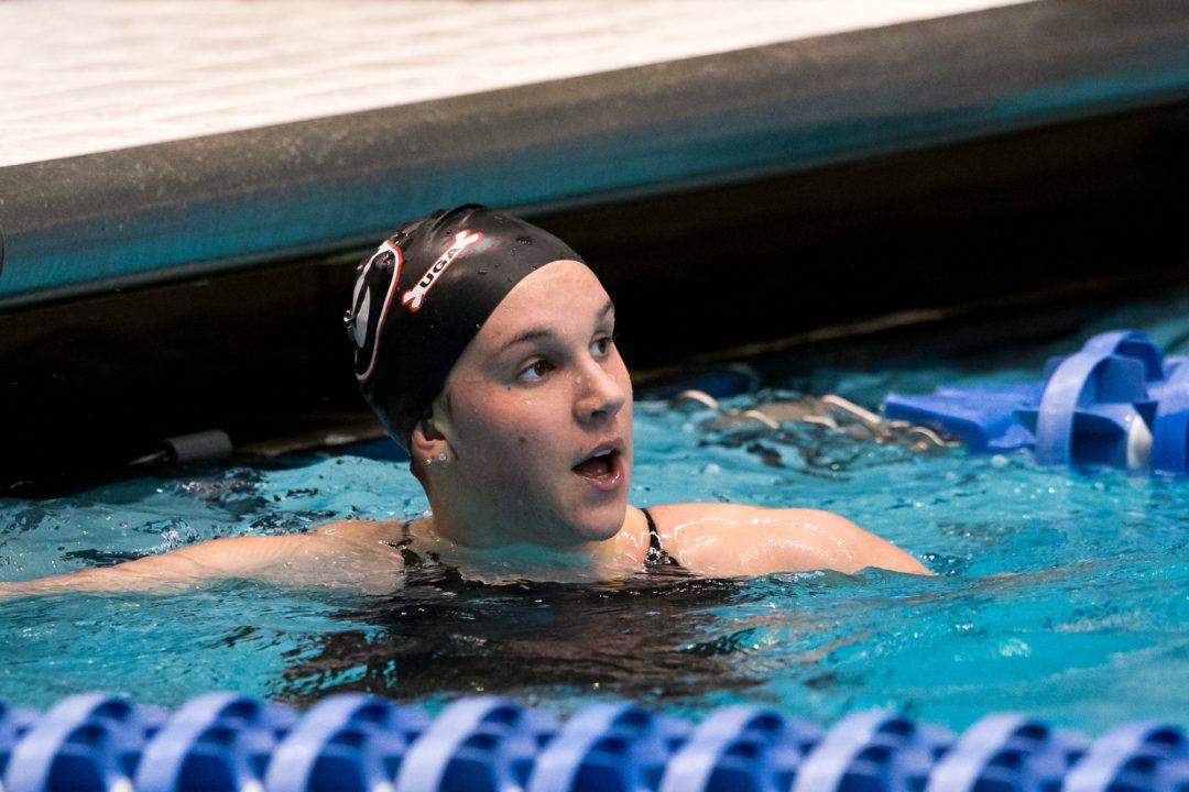 Georgia's Chantal van Landeghem Named to NCAA Woman of the Year Top 30