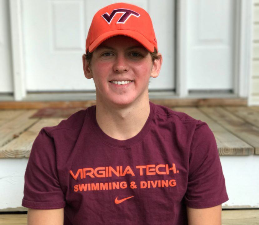 In-state Distance Freestyler Brennen Doss Verbally Commits to Virginia Tech