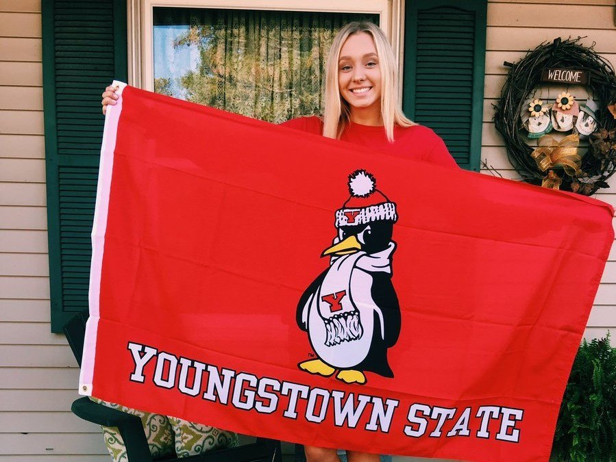When It Rains It Pours; Mallory Pitstick Makes 3 for Youngstown State