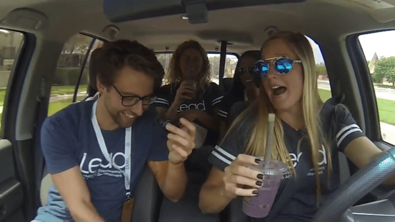 Coleman's Carpool: National Teamers Go on a Juice Run at LEAD (Video)