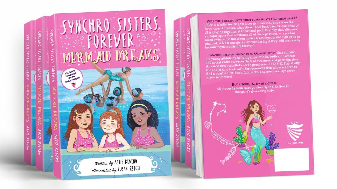 Katie Reveno Writes Children's Book Promoting Synchronized Swimming