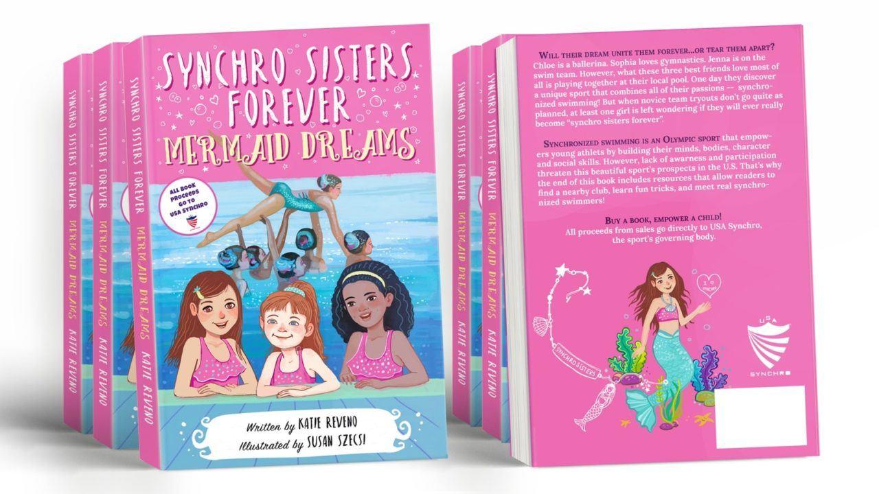 Katie Reveno Writes Children's Book Promoting Synchronized Swimming