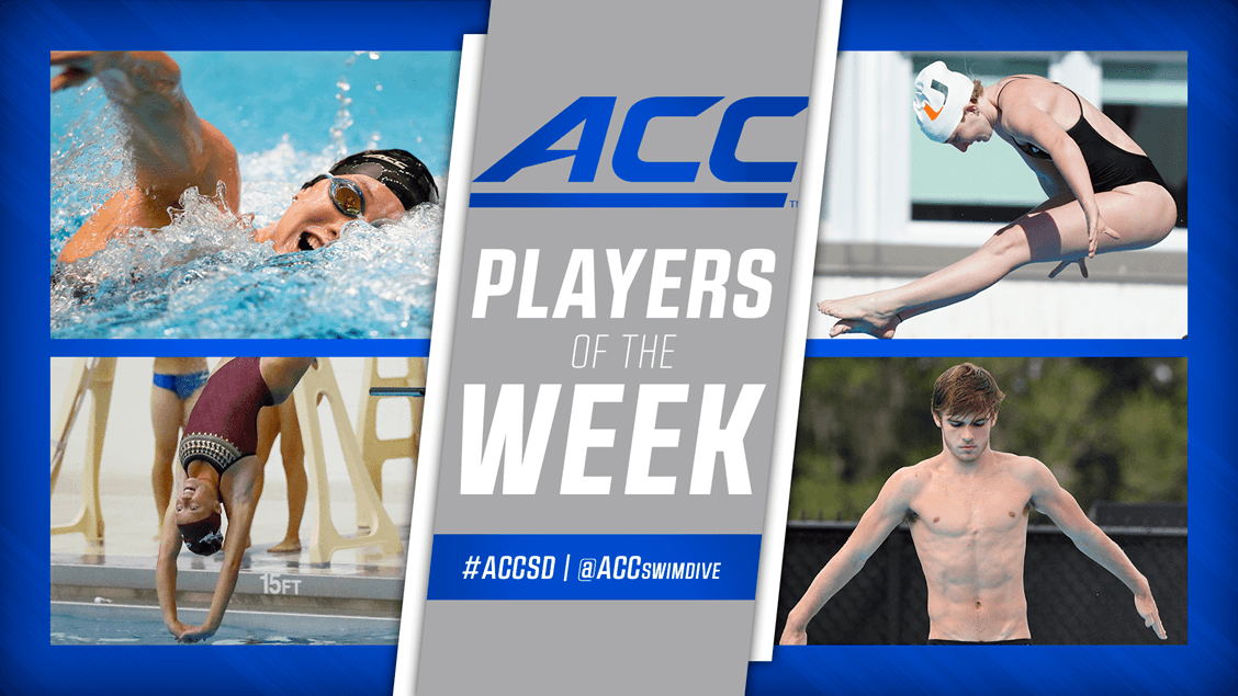 Louisville & Virginia Tech Earn ACC Swimmers Of The Week