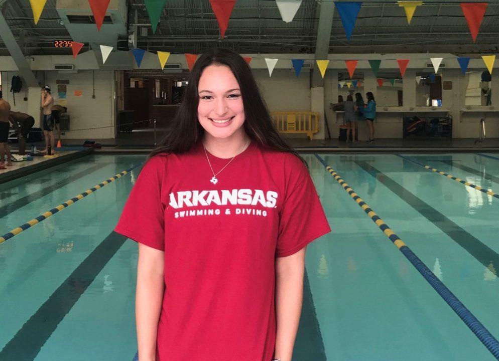 Texas freestyler/backstroker Rachel Rodriguez Commits to Arkansas