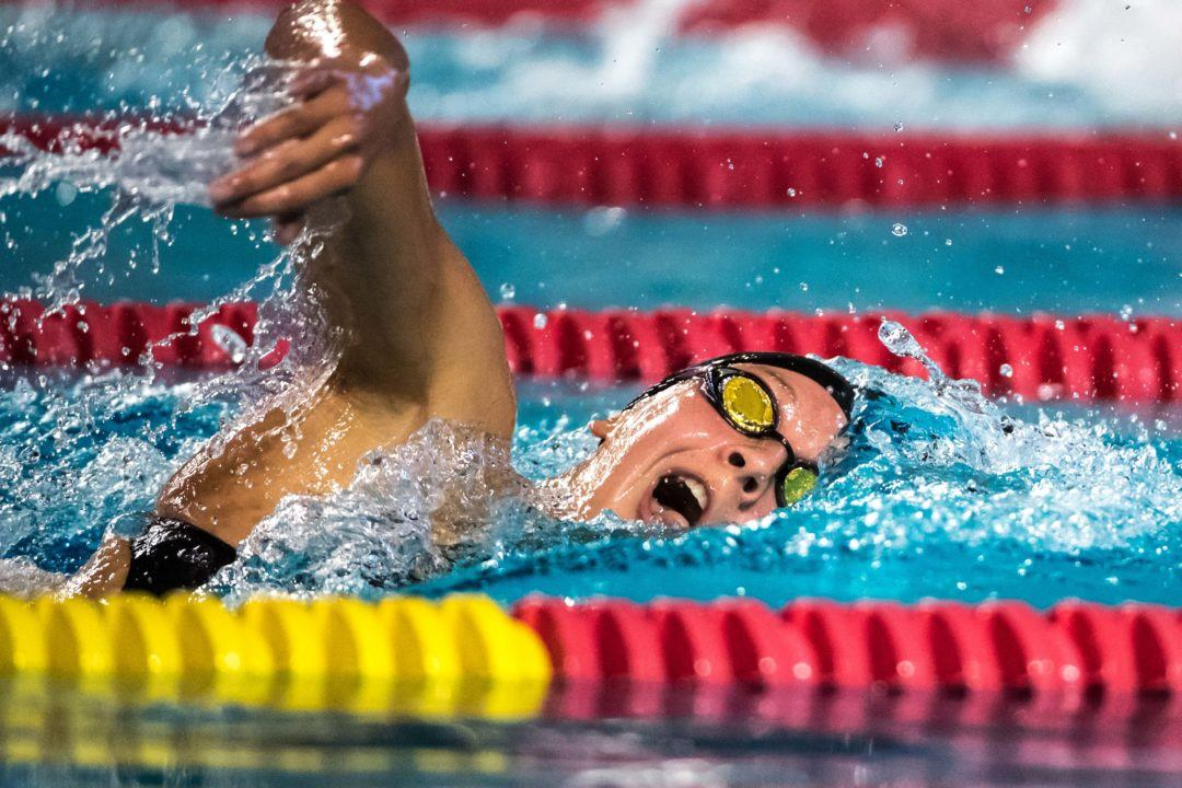 Brooke Forde to Swim 500 Free, Not 200 IM, at NCAAs
