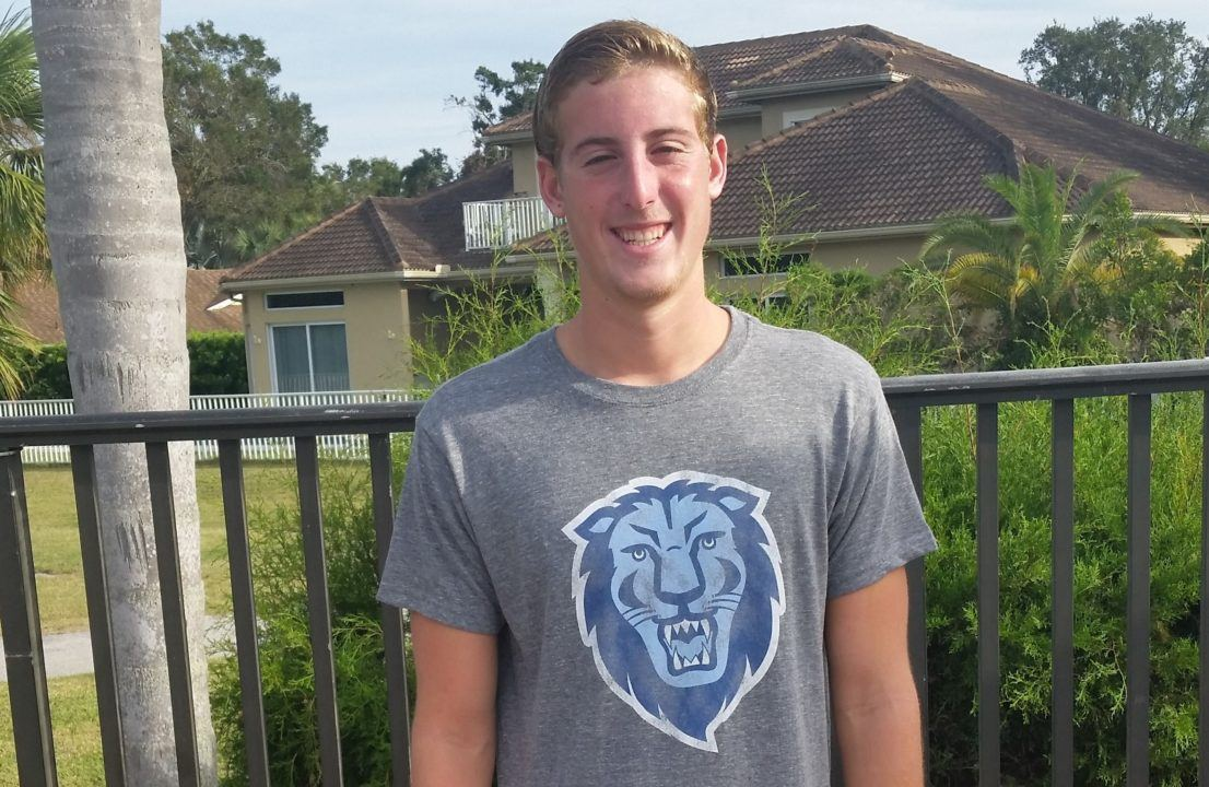 Florida Backstroker/IMer Joey Licht Verbally Commits to Columbia